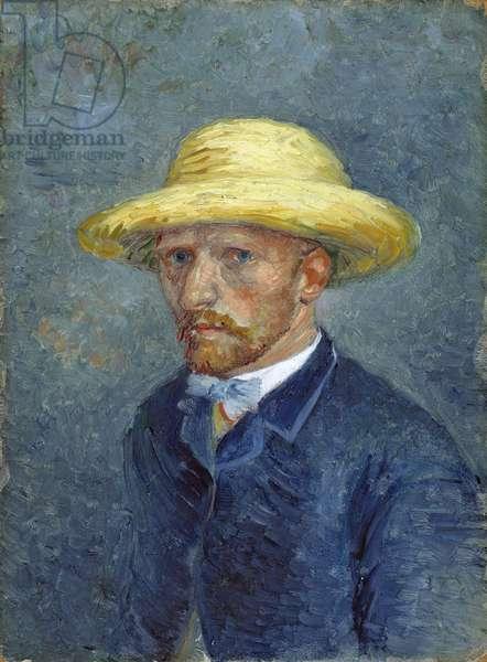 Portrait of Theo van Gogh par Gogh, Vincent, van (1853-1890), 1887 - Oil on cardboard, 19x14,1 - Van Gogh Museum, Amsterdam