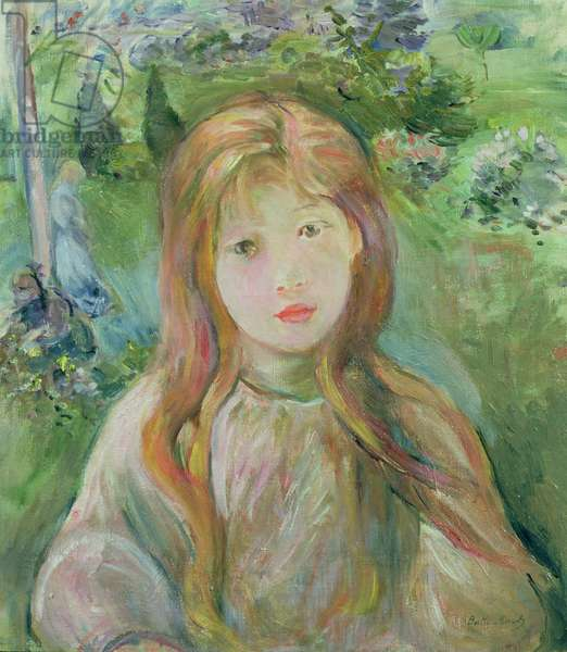 Little Girl at Mesnil, 1892 (oil on canvas)