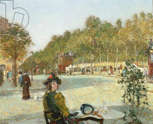 September Sunlight, Paris (oil on canvas)