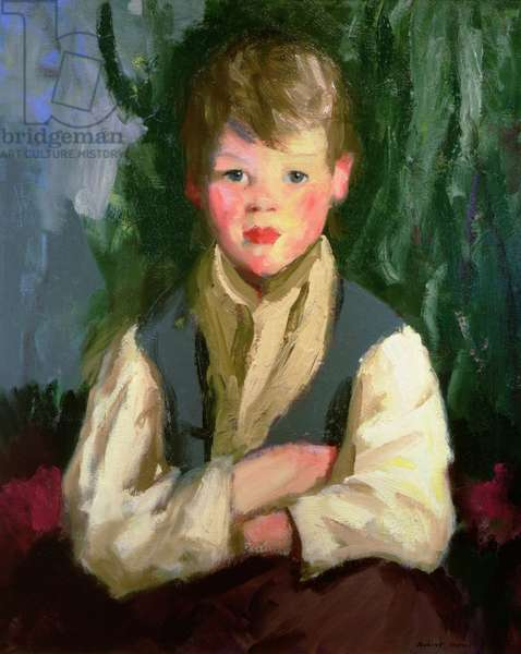 The Little Irishman, 1913 (oil on canvas)