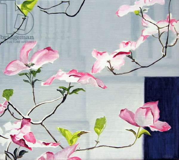Little Dogwood, 2006 (oil on canvas)