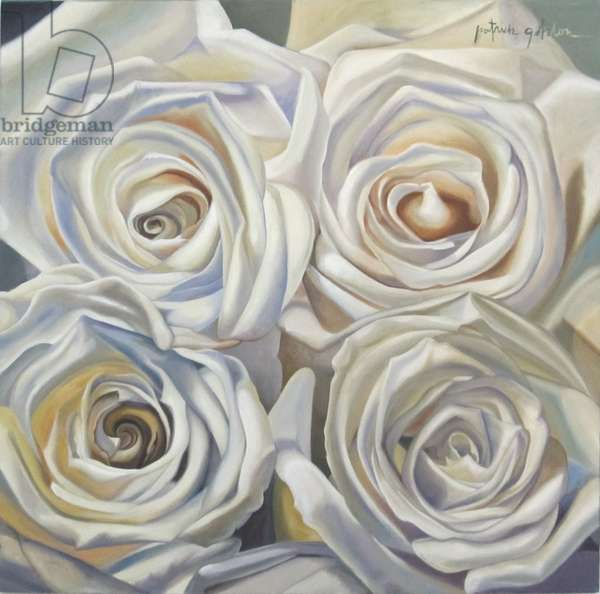 Dust Bowl Roses, 2013 (oil on canvas)