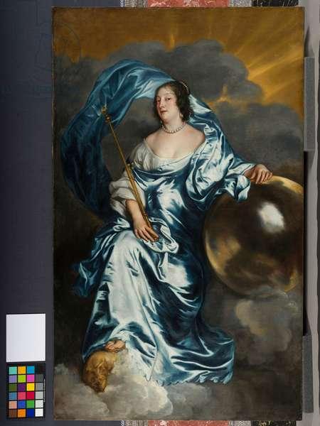 Rachel de Ruvigny, Countess of Southampton as `Fortune', c.1638 (oil on canvas)
