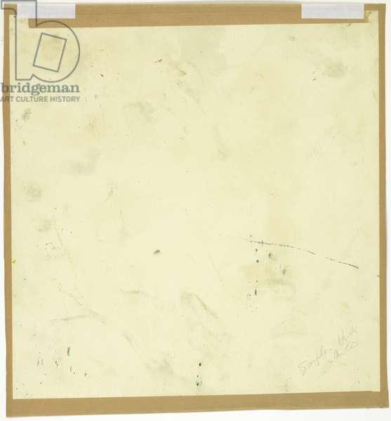Flotsam, 1959 (pencil on paper) (verso of 5668930)