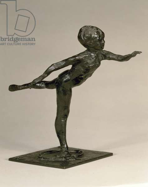 M.36-1982 Arabesque over the right leg, left arm in front, sculpture by Edgar Degas (1834-1917), c.1882-95 (bronze) (see 58877 for wax model)