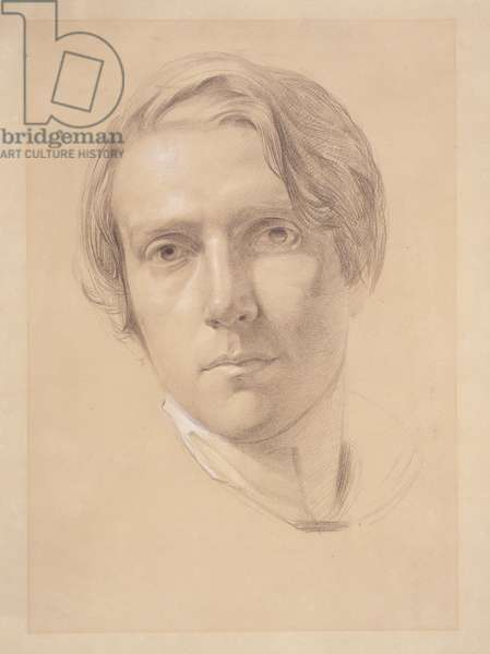 Self Portrait, 1830 (graphite heightened with white on buff paper)