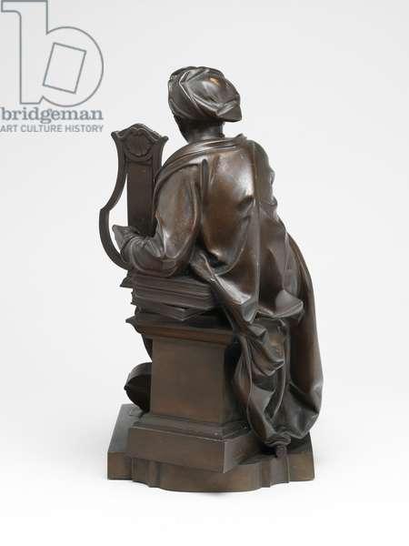 George Frideric Handel as Apollo, 1859 (bronze electrotype)