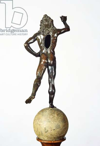 Mercury Taking Flight, c.1515 (copper alloy, breccia & wood)