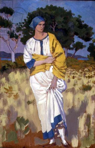 The Woman of Ower, 1914 (oil on panel)