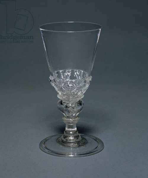 Lead Glass goblet: Facon de Venise, c.1680