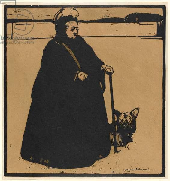 Queen Victoria (woodcut)