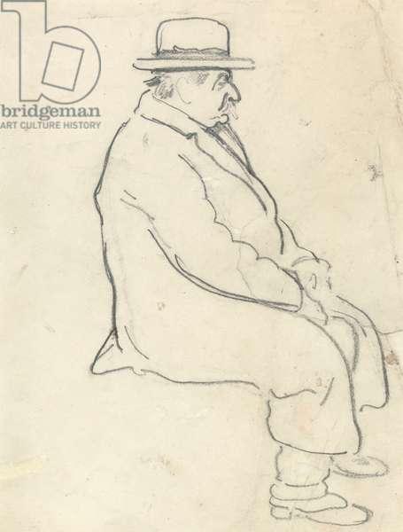 David of Cambridge (graphite on paper)
