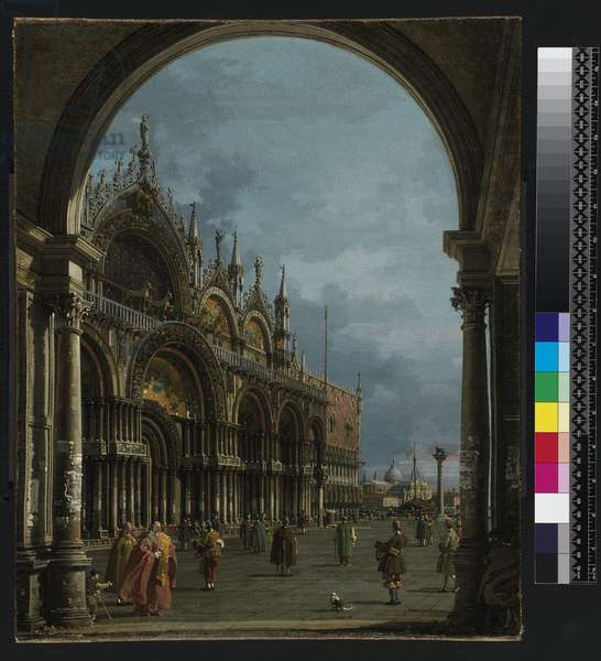 St. Mark's, Venice, c.1756 (oil on canvas)