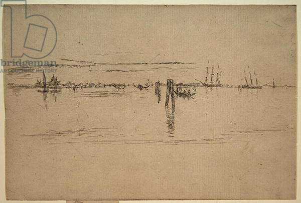 Long Lagoon, c.1879-80 (etching & carbon ink on paper)