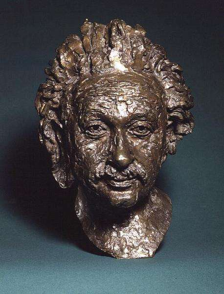 Bust of Albert Einstein (1879-1955) by Sir Jacob Epstein (1880-1959), 1934 (bronze)