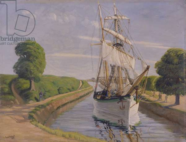 The Brigantine, 1919 (oil on canvas)