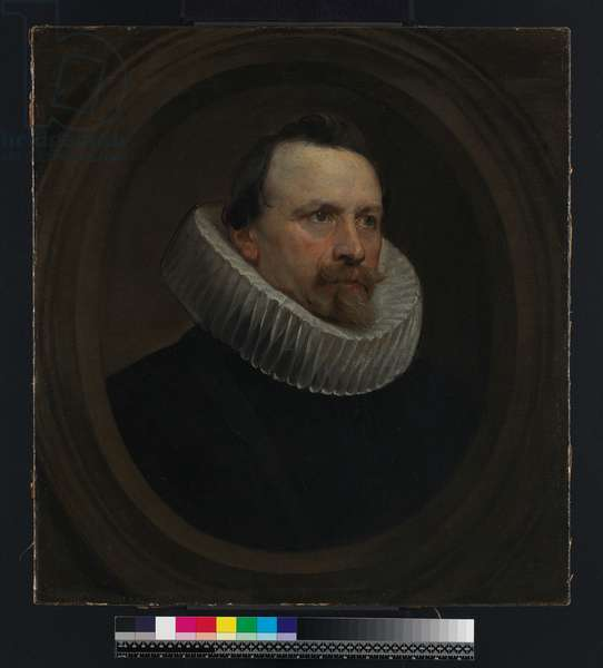 Portrait of a man, 1630 (oil on panel)