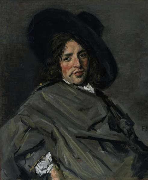 Portrait of an Unknown Man, 1660-63 (oil on canvas)