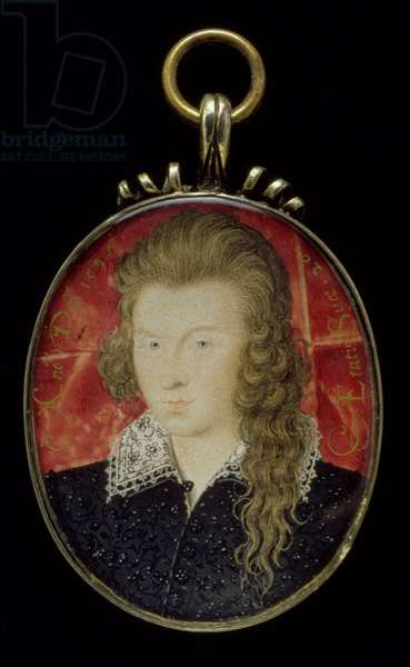 No.3856 Henry Wriothesley, 3rd Earl of Southampton (1573-1624), c.1594 (gouache on vellum)