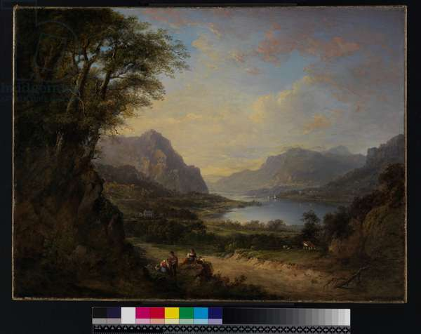 Loch Doon, Ayrshire, before 1840 (oil on canvas)
