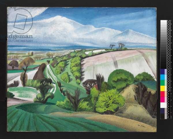 The Edge of the Plain, 1926 (oil on canvas)