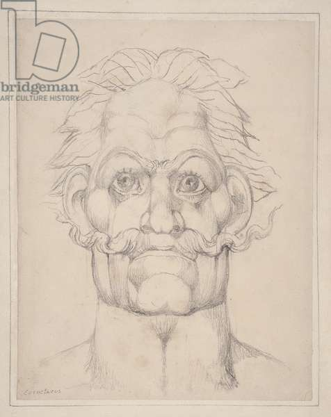 Visionary Head of Caractacus (pencil on paper)