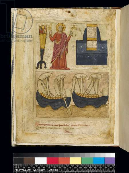 Illustration from the 'Notitia Dignitatum' (ink & gold on parchment)