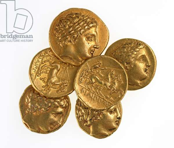 Staters of Philip II of Macedonia, 359-336 BC (gold)