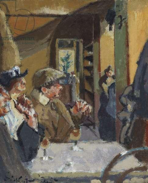 Chez Vernet, 1925 (oil on canvas)