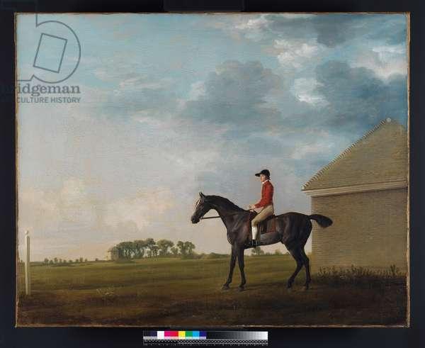 Gimcrack with John Pratt up on Newmarket Heath, 1765 (oil on canvas)