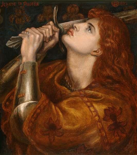 Joan of Arc, 1882 (oil on panel)
