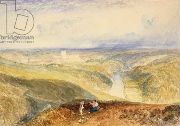 No.0572 Richmond, Yorkshire, c.1825-28 (w/c)