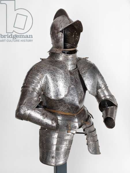 Half armour, 1550-1610 (steel, hammered, riveted)