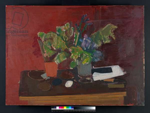 Big Red Still Life, 1959 (oil on canvas)