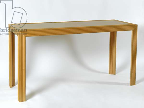 Console table, 1990 (wood)