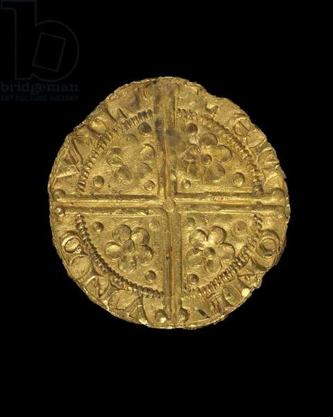 Penny of King Henry III, 1257-58 (gold) (see also 429893)