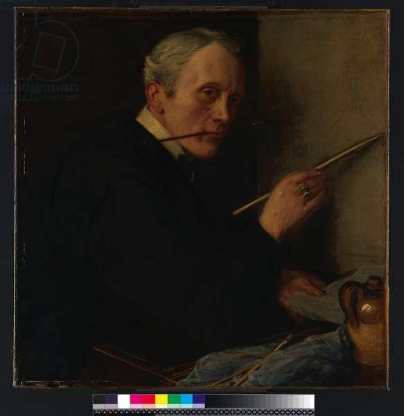 Self-portrait, 1917 (oil on canvas)