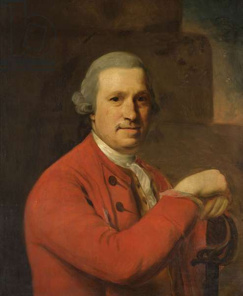 General Lloyd, 1773 (oil on canvas)