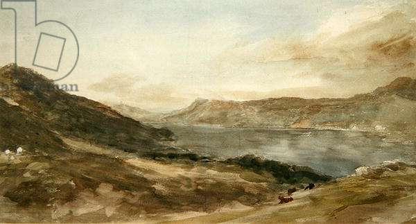Windermere, 1806 (w/c & graphite on paper)