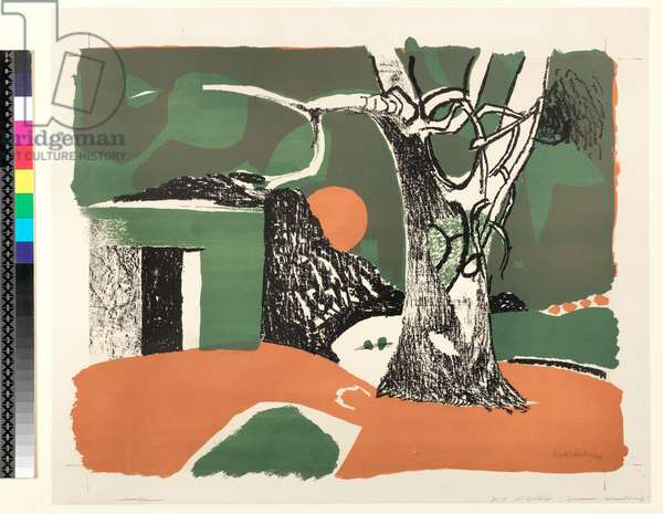 Village, 1949 (litho)