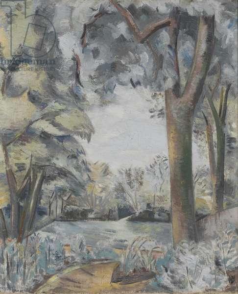 Coronilla Landscape, 1929 (oil on canvas)