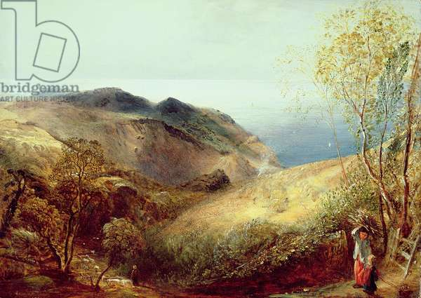 On Chalden Down, Dorset, c.1834-35 (oil on canvas)