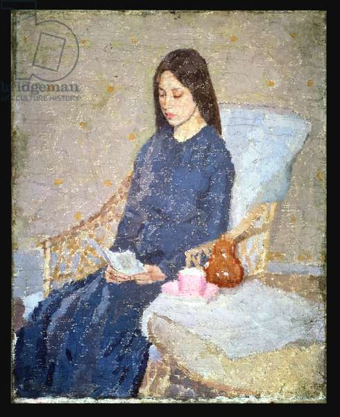 The Convalescent, c.1923-24 (oil on canvas)