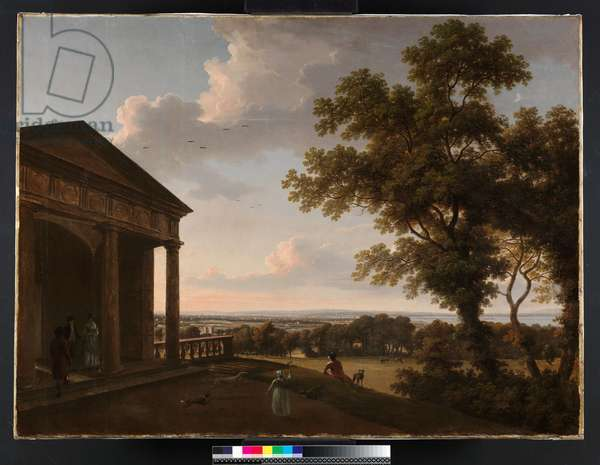 View in Mount Merrion Park, 1804 (oil on canvas)