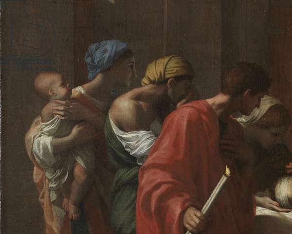 Extreme Unction, from the 'Seven Sacraments', 1638-40 (oil on canvas)