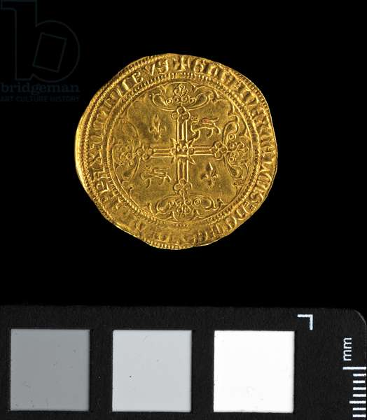 Noble d'or de Guyenne (pavillon), Edward 'the Black Prince' (1362-72) (gold) (obverse of 5944006)