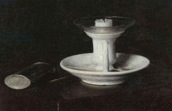 White Candlestick, 1870 (oil on canvas)