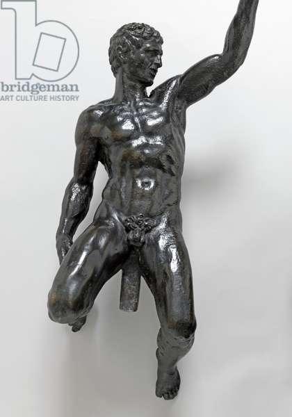 Nude bacchants riding panthers, c.1506-08 (bronze)
