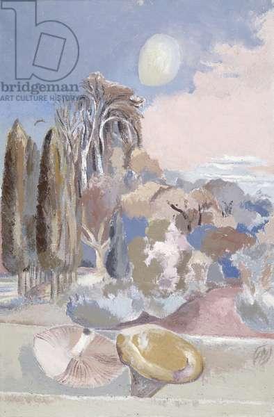 November Moon, 1942 (oil on canvas)