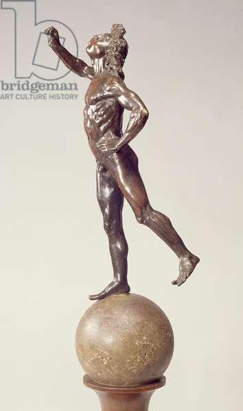 Fountain figure of Mercury, Florentine, 1515 (bronze)